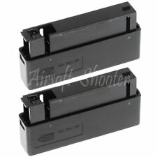 Airsoft Parts 2pcs 25rd Mag Magazine For MB01 MB04 MB05 L96 Bolt Action Rifle