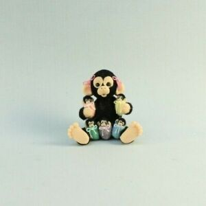 OOAK~Monkey~Babies~Sleep sack~Pouch~Mini~Artist Doll~Toy~Dollhouse~Cheryl Brown