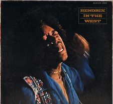 "JIMI HENDRIX ""IN THE WEST"" ROCK 70'S LP POLYDOR MP 2235"