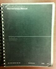 YALE Fork Lift Truck Maintenance Manual OS/SS 030 BC