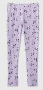 New Cat & Jack Girls Leggings XS 5 S 7 M 8 L 12 XL 16 year Purple w Unicorns