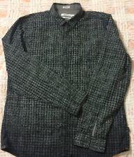 Calvin Klein Camicia Di Cotone Nera Tg.L
