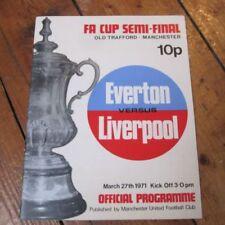 Away Teams A-B Everton Home Teams C-E Football Programmes