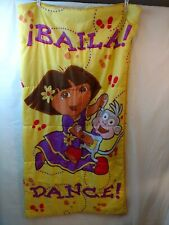 Dora The Explorer Girls Baila/Dance Sleeping Bag