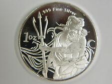 Trident 1oz .999 Fine Silver Round