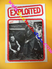 CARTOLINA PROMOZIONALE POSTCARD THE EXPLOITED 10x15 cm no* cd dvd lp mc vhs