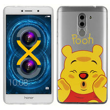 """Coque Housse Silicone TPU Ultra-Fine Winnie the Pooh pour Huawei Honor 6X 5.5"""""""