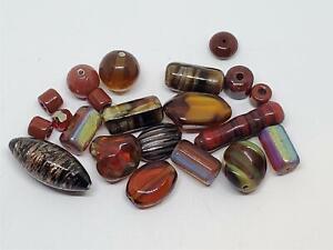 Vintage Glass Boho Artisan Bead Interesting Mix DIY Jewelry Making Inspiration