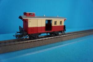 Marklin 4108 DB Bagage Car Red-Ivory