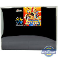 5 x Cart Protector Box for Neo Geo AES Game Cartridge 0.5mm Plastic Display Case