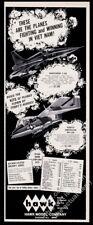 1967 Hawk Model F5A OV-10A plane Vietnam War aircraft kits vintage print ad
