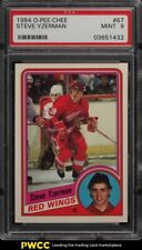 1984 O-Pee-Chee Hockey Steve Yzerman ROOKIE RC #67 PSA 9 MINT