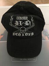 Harley-Davidson Fitted Skull Hat Black Baseball Fitted XL 97904-13VM/002L