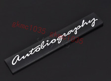 NEW AUTOBIOGRAPHY REAR BOOT BADGE RANGE ROVER BLACK VOUGE SPORT for Land Rover