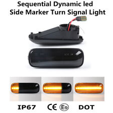 For Honda Civic 1996-2000 Sequential LED Side Marker Dynamic Turn Signal Lights