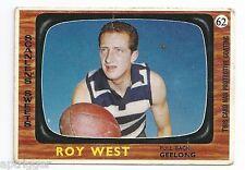 1967 Scanlens ## 62 Roy WEST Geelong Very Good