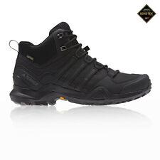 adidas Mens Terrex Swift R2 Mid GORE-TEX Walking Boots Black Sports Outdoors