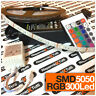 STRISCIA A LED SMD 5050 300LED 5 METRI STRIP RGB BOBINA LUCE MULTICOLOR COLORI
