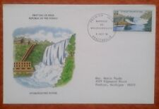 First day of issue, 1979 Republic of the Congo, Hydroelectric Power