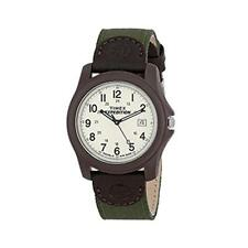 Timex T49101 Water Resistant Expedition Camper Analogue Watch Green Nylon Strap
