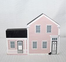 "94 Faline Cat's Meow ""Lillian Gish Home"" Massillon, Ohio Shelf Sitter Signed"