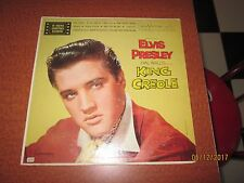 RARE ELVIS PRESLEY KING CREOLE LPM 1884 LONG PLAY SILVER RCA VICTOR LABEL