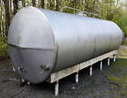 4200 Gallon Sanitary Stainless Steel Horizontal Storage Tank