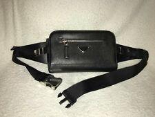 Prada leather cross body/waist bag