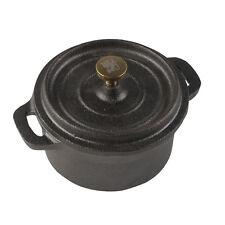 Sabatier Maison Mini Round Cast Iron Casserole Dish for Individual Portions