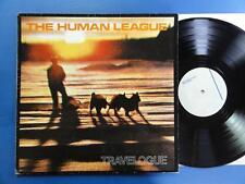 HUMAN LEAGUE carnet de voyage Vierge German LP VG +/VG