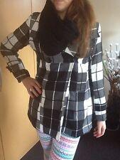 dünner Woll-Mantel Kurzmantel schick Marke Jennifer Taylor Gr38/40/M Acrylwolle