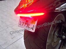 Suzuki Boulevard M109R Red LED Rear Turn Signal Fender Eliminator Kit - Clear