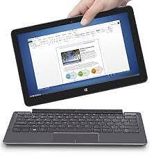 Dell Venue 11 Pro 7130 i5-4300Y  8GB RAM 256GB Biometric Wins 10 Pro  W/Keyboard