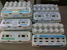 Egg Cartons Carton Lot 20 Dozen 12 Count Eggs Chicken Cardboard Kids Craft Art