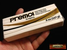 M00564 MOREZMORE Premo Sculpey WHITE 8oz Sculpting Modeling Polymer Clay