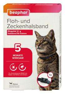 Flohhalsband Katze, Zeckenhalsband, Ungezieferhalsband, Beaphar, Flöhe, Zecken5M