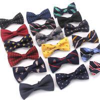 Men Bowtie Bow Tie Suit Necktie Formal Wedding Party Ties 30 color Adjustable