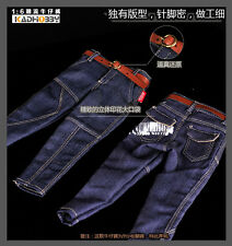 "1/6 Scale High Quality Jeans with belt for 12"" Action Figure"