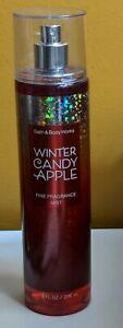 Bath & Body Works Winter Candy Apple Fragrance Body Mist Spray 8 oz NEW