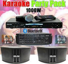 Vocal-Star Karaoke Machine & 1000w Speaker Party Pack 2 Microphones & 300 Songs