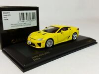 1:64 Kyosho CAR.NEL Lexus LFA LF-A 4.8L V10 Coupe Yellow 2010 LE 999 pcs Japan