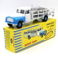 "Dinky Toys Atlas 586 Citroën camion laitier ""55""  1/43"