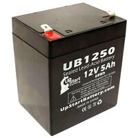 Power PM12-4 12V 5Ah UPS Battery This is an AJC Brand Replacement