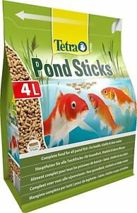 Tetra Pond Fish Sticks 4L / 450g - Complete Food For Health & Vitality