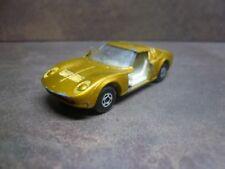 Matchbox Lesney Lamborghini Miura oro  / Gold  n- 33 superfast