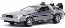 Jada Toys DeLorean DMC Le Retour vers Le Futur 2 1989 Echelle 1:24 Voiture Miniature - Grise (31468)