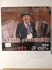 Gerardo Reyes Con Banda Y Norteño Paquete de 3 Cds
