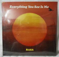 "RASA ""Everything You See Is Me"" 1978 (Govinda) NEW/SEALED!!"