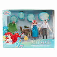 DISNEY THE LITTLE MERMAID SHIP, PLAYSET, AND FIGURES MATTEL