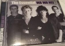"WA WA NEE ""The Essential"" 2010 19Trk CD ""Stimulation, Sugar Free, I Want You"""